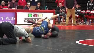 SCSU vs AU Wrestling Highlights 2-15