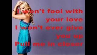 Olivia Holt - Thin Air (Feat. Jordan Fisher) Lyrics