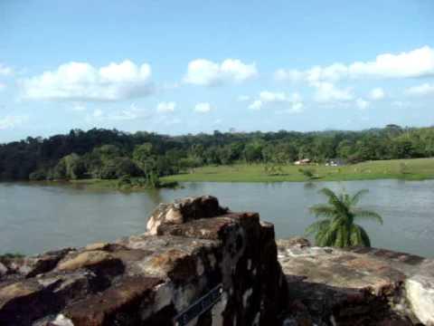Vistas desde el Castillo. Rio San Juan