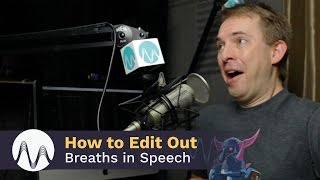 How to Edit Out Breaths in Adobe Audition