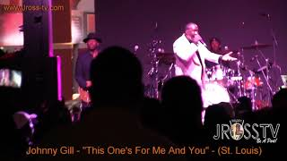 "James Ross @ Johnny Gill - ""This One's For Me And You"" - www.Jross-tv.com"