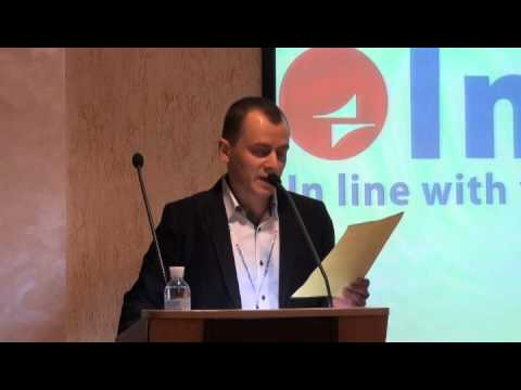 InText Forum 2012. Welcome Speech by Stanislav Kalenyuk