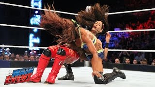 Brie Bella vs. Alicia Fox: WWE Main Event, April 25, 2015