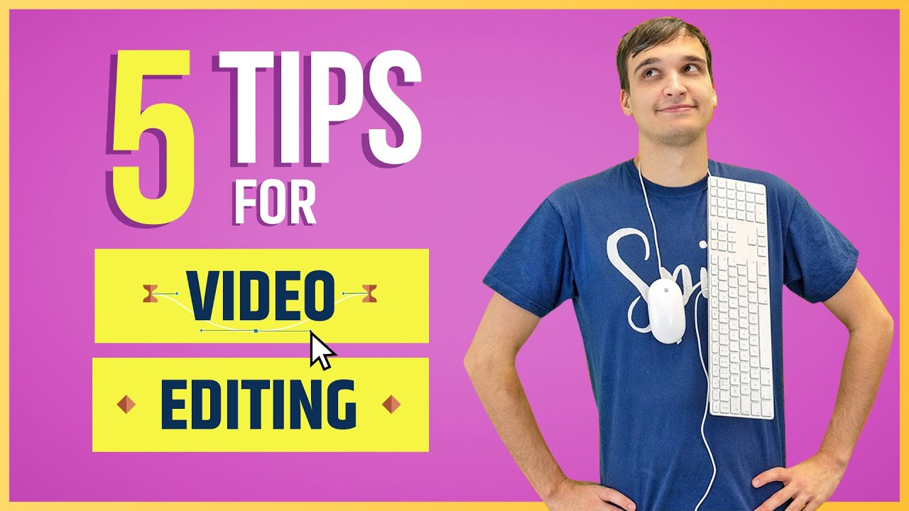 How to Get Started With Video Editing (5 Tips for Beginners!)