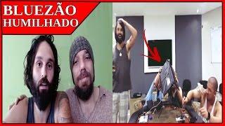 Bluezão é humilhado por Mario schwartzmann/Notebook de Bluezão estraga em live