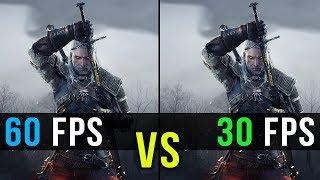 30 FPS vs. 60 FPS Gaming Comparison