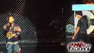 Chris Brown & Juelz Santana Perform Back To The Crib