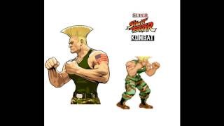 Street fighter II Guile theme SNES