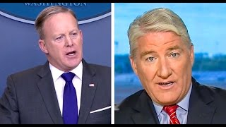 'Pay no attention to the man behind the podium': Host knocks Sean Spicer's 'credibility problem'