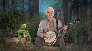 "Steve Martin and Kermit the Frog in ""Dueling Banjos"""