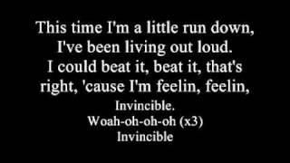 Hedley - Invincible (lyrics) High Quality