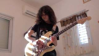 Yngwie Malmsteen -Guitar Cover by 12 years old  Arpeggios from Hell