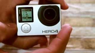 Primeiros passos como utilizar a GoPro Hero 4 silver-Review em Português