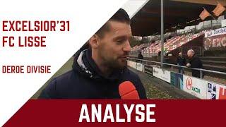 Screenshot van video Vooruitblik Excelsior'31 - FC Lisse met analist Martijn Beltman