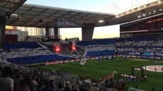 FC Porto 1-0 sl benfica 2015 - hino