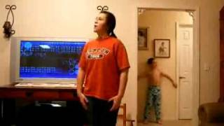 "Little Brother Bombs His Sister Dancing To Akon's ""Smack That""!"