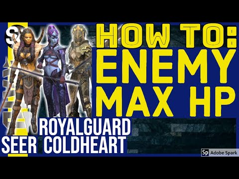 RAID SHADOW LEGENDS | ENEMY MAX HP SKILLS: HOW TO | SEER ROYALGUARD COLDHEART