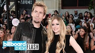 Avril Lavigne Joins Ex Chad Kroeger on Stage During Nickelback Concert | Billboard News Flash