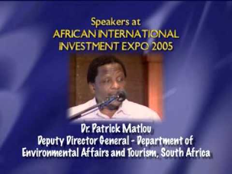 INVEST IN AFRICA.Part 1. SOME SPEAKERS AT PAST EXPO