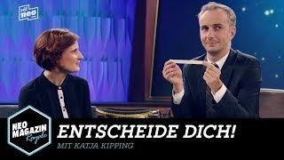 Entscheide dich! mit Katja Kipping | NEO MAGAZIN ROYALE mit Jan Böhmermann - ZDFneo