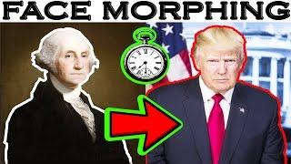 Presidents of the USA face morphing(4k 2017)by Adobe After Effects and Adobe PremierePro CC tutorial