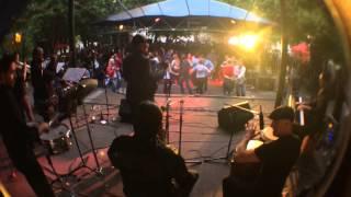 Latin food and music fest praga . band:  La Descarga