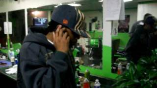 KASH G AND LURCH BOOGIE of 747 AT REVOLVA BARBER SHOP ON 103rd and CALUMET in CHICAGO, IL