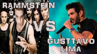 Rammstein Vs Gusttavo Lima - Balada Boa (Live Parody) HD