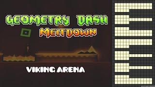 Geometry Dash Meltdown - Viking Arena [Piano Cover]