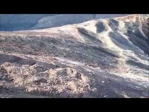 Volcanoboarding, Leon