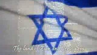 Hino de Israel Hatikva ✡ The National Anthem of Israel