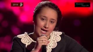 Ryana.'Pardonne-moi ce caprice d'enfant'(Mireille Mathieu).The Voice Kids Russia 2016.