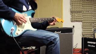 Fender strat AVRI '62 RI Marshall Bluesbreaker Combo 2