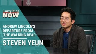 The Walking Dead's Andrew Lincoln's Departure: Steven Yeun Discusses with Larry