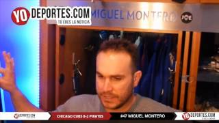 Miguel Montero Cubs 8-2 Pittsburgh Pirates Saturday May 14