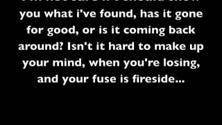 """""""Fireside"""" - Arctic Monkeys - Lyrics"""