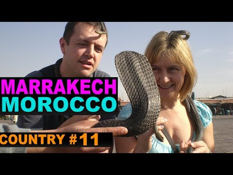 A Tourist's Guide to Marrakech, Morocco. www.theredquest.com