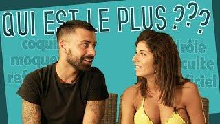 """""""Qui est le plus ?"""" : Vincent Queijo et Sarah Lopez (Les Anges) se chamaillent !!"""