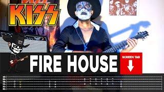 Kiss - Firehouse (Guitar Cover by Masuka W/Tab)