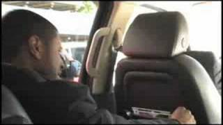 Usher - Moving Mountains Rehearsal in the Car