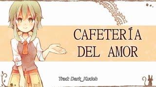 (Oficial - An.feat GUMI) Ren'ai cafetería / Cafetería del amor (Sub castellano & romaji)