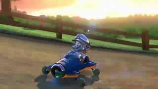 Metal Mario Comeback - Moo Moo Meadows - Mario Kart 8 - Wii U