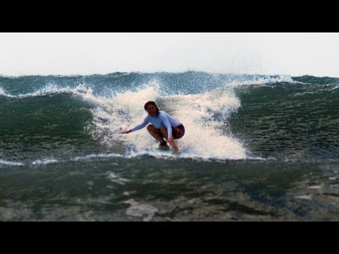 Patience Success and Learning to Turn at Surf With Amigas