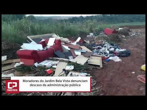 Moradores do Jardim Bela Vista denunciam descaso da administração pública - Cidade Portal