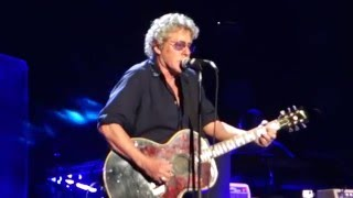 The Who - Behind Blue Eyes Live - Madison Square Garden NYC - 2016-03-03