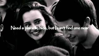 Lovely-  Billie Eilish ft. Khalid LYRICS VIDEO |13 Reasons Why, season 2|soundtrack