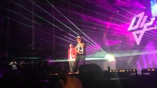 Daddy Yankee & J Alvarez - El Amante (Live in Madrid) 2015