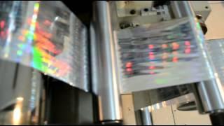 Hologram Embossing Machine