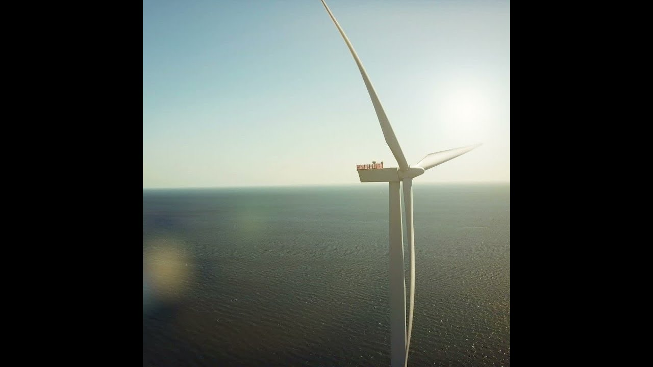 Offshore Wind Power can produce more Electricity than the world uses