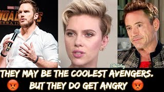 Avengers 4: Endgame Cast Getting Angry At Interviews - Cringiest Moments